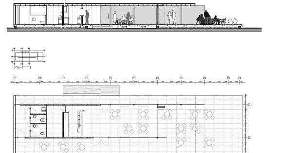 Caf del puerto alicante garcia solera arquitectura - Alzado arquitectura ...