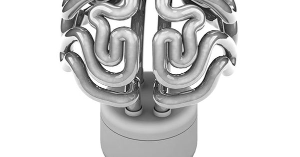 Brain Light Bulb. SO CUTE> need this at LUMEN!