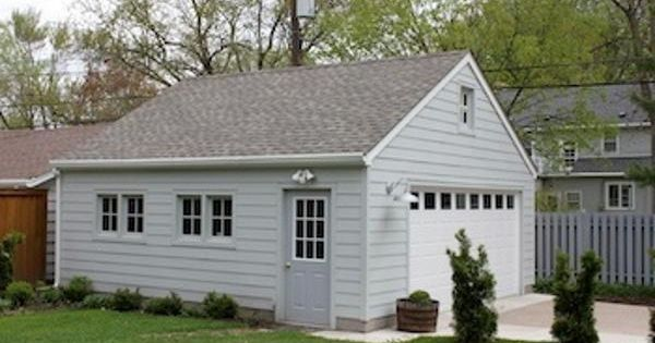 This is a very popular minnesota 2 car garage style its for Standard garage roof pitch