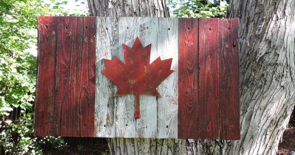3d Distressed Canadian Flag Canada Flag Maple Leaf