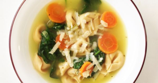 Tortellini En Brodo (Broth) | Tortellini, Forks and Skinny