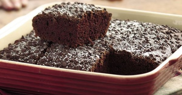 Double Chocolate Snack Cake Homemade - Kids can't have enough of this