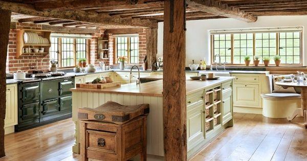 rustikale Landhaus Küchen Einrichtung | Küche | Pinterest | Kuchen | {Rustikale landhausküchen 34}