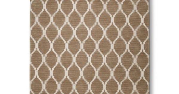 threshold natural fretwork rugs at target cotton and
