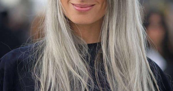 graues haar die edle trend haarfarbe graue haare grau und haar. Black Bedroom Furniture Sets. Home Design Ideas