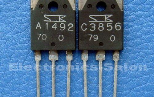 8 28 Gbp 2sa1492 And 2sc3856 Sanken High Power Audio Transistor Ebay Electronics In 2020 Transistors Electronic Schematics Audio Amplifier