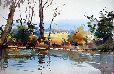 David Taylor S Artwork Jumps Ahead In Watercolor Dillmans