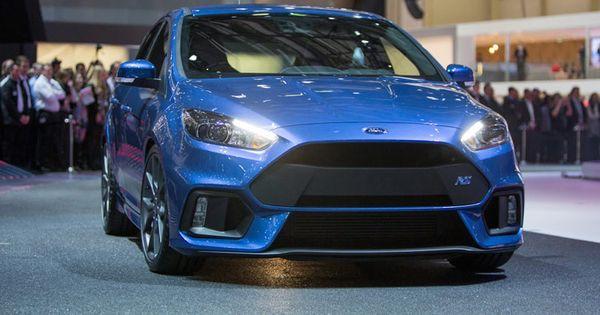 Ford Focus Rs 2016 A Precios Desde 35 700 En Los Ee Uu Ford Focus Ford Autos