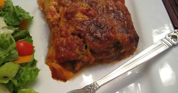 Lasagna, Zucchini lasagna and Zucchini on Pinterest
