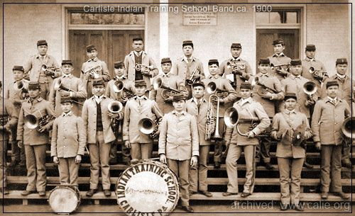 Indian Band With Images Native American Heritage Month Indian Boarding Schools Native American History