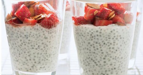 Giada's Chia Seed Pudding 1cup vanilla unsweetened almond ...