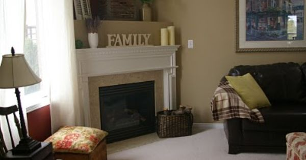 corner fireplace mantel decorating ideas - How To And How NOT To Decorate A Corner Fireplace Mantel To Be