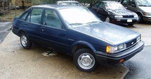 1987 Chevrolet Nova Pictures Chevrolet Nova Chevy Nova Chevrolet