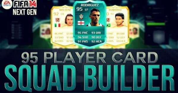 The Most Expensive Squad Builder Ever W 95 Rodriguez Player Card Fifa 14 Ultimate Team Player Card Fifa Ultimate Team Fifa