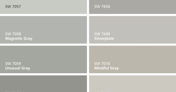 I Found These Colors With Colorsnap Visualizer For Iphone By Sherwin Williams Silver Strand