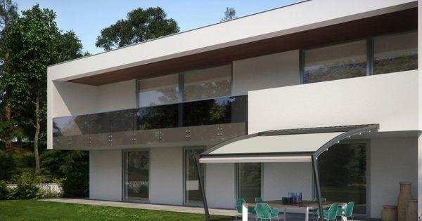 terrassen berdachung aus aluminium und glas sch ne modern designte terrassen berdachungen. Black Bedroom Furniture Sets. Home Design Ideas