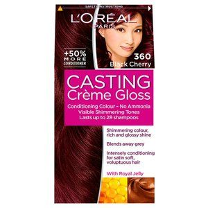 Casting Creme Gloss 360 Black Cherry Semi Permanent Hair Dye Belleza