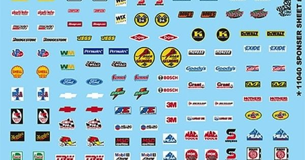 Racing Contingency Sponsor Decal Sheet 3 By Gofer Racing Decals Internet Marketing Strategy Good Essay Decal Sheets