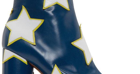 Vetements Blue & White Star Platform Boots   shopping ...: https://www.pinterest.com/pin/175851560427612014/