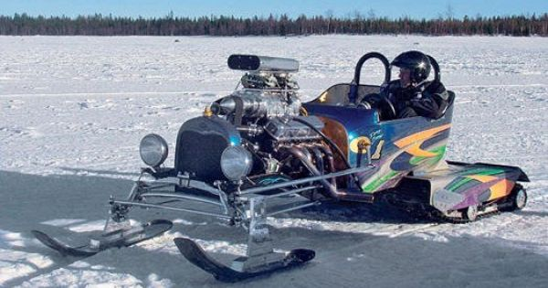 custom snow machine