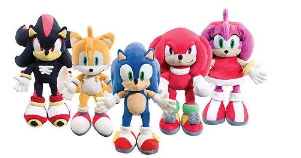12 Sonic The Hedgehog Plush Soft Toy Knuckles Tails Shadow Teddy Bear Bnwt Ebay Sonic Birthday Sonic Birthday Parties Sonic Plush Toys