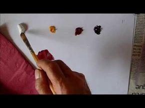 Comment Faire La Couleur Fuchsia Journal Des Peintres Melange