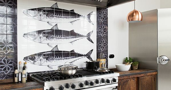 Retour l 39 cole keuken keukens en fornuis - Credence keuken wit ...
