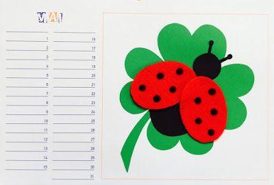 Materialwiese Werken In Der Grundschule Bastelkalender Mai