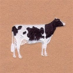 Baby Terry /& Embroidered Iron On Applique Patch Cow Dairy Farm