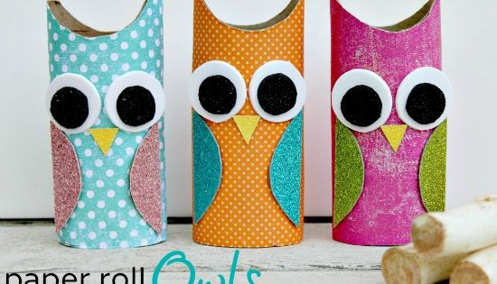 DIY Paper Roll Owls DIY Projects | UsefulDIY.com . Check my friend