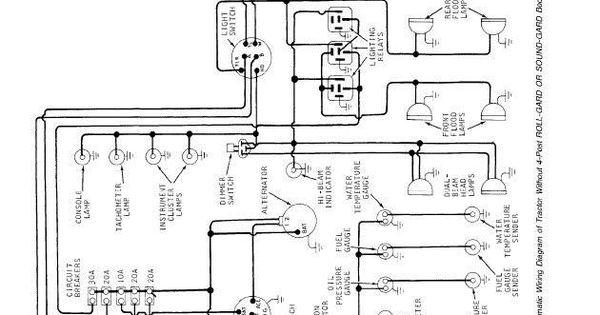 Alternator Wiring Diagram 2000 John Deere 240