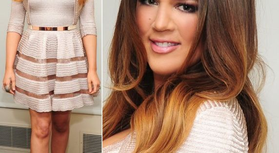 khloe kardashian ombre hair, beautiful.