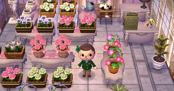 Epingle Par Dani Phelps Sur Animal Crossing En 2020 Idee Deco Fleuriste Petit Jeux