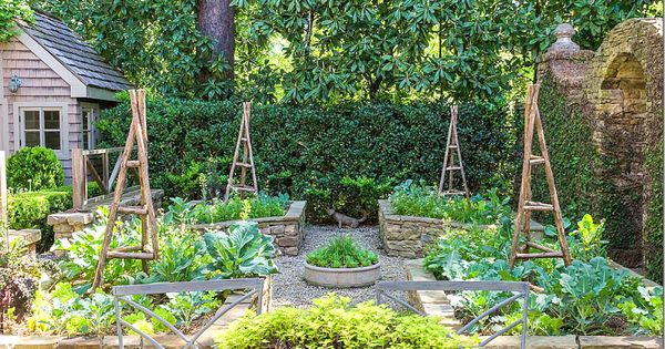 Vegetable Garden With Walls Former Owner Of Ballard