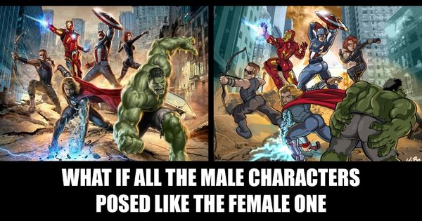 Seriously, the hyper-sexualization of female comic book characters and super heroes is