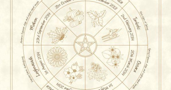 ... Year Pagan / Wiccan Sabbat Calendar 2016   Sabbats, Wiccan and Pagan
