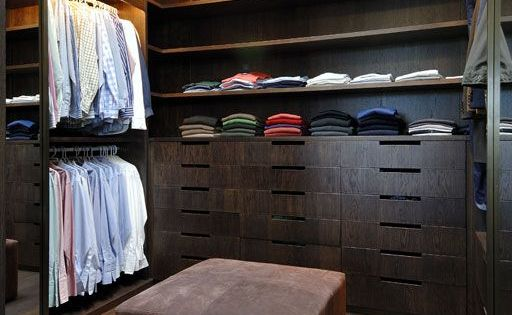 Organizar vestidores para hombre como organizar for Closet modernos para hombres