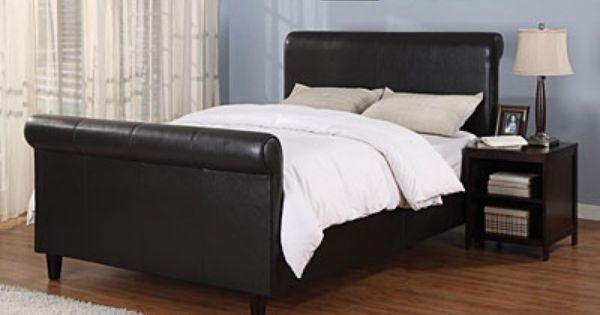upholstered complete queen sleigh bed at big lots home 14546 | 56eda6dbbf2bc5ac91e1517f204f01c2