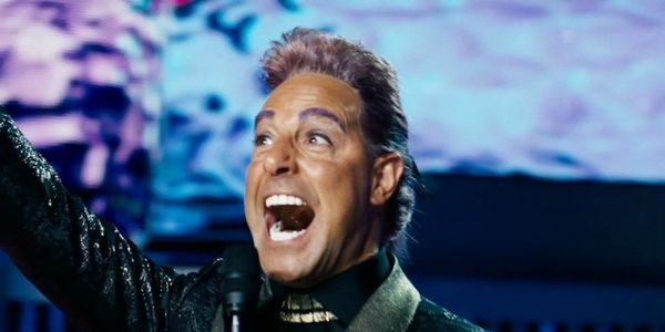 Caesar Flickerman In 2020 Catching Fire Have A Laugh Hunger Games