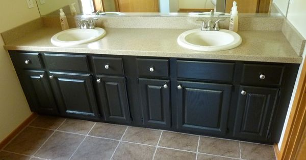 Rustoleum Countertop Paint On Wood : ... Rustoleum cabinet transformation, Cabinet transformations and Wood