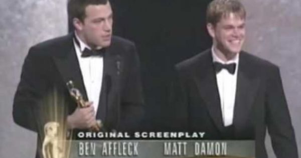 The 70th Academy Awards 1998 Ben Affleck Matt Damon Good Will Hunting