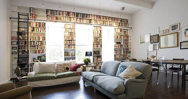Empty bookshelves?! Not in MY house!