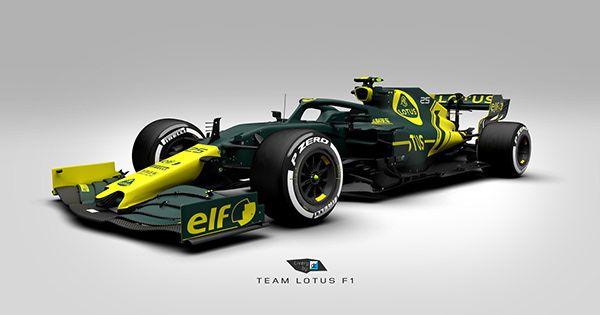 Team Lotus F1 Concept On Behance In 2021 Lotus F1 Automotive Artwork Lotus