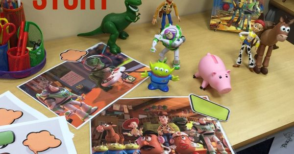 Text Bubble Toys For Tots : Toy story writing invitation bordered pages and speech