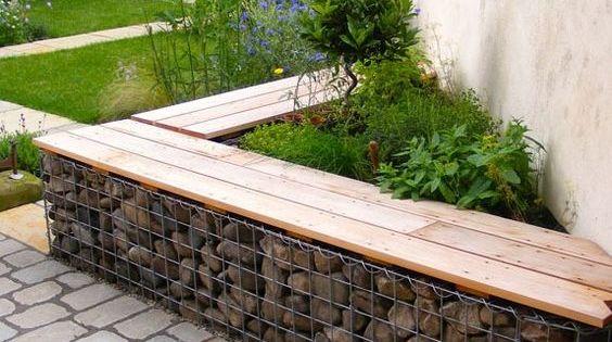 15 gaviones decorativos fabulosos para el jard n jard n - Rejas para jardin ...