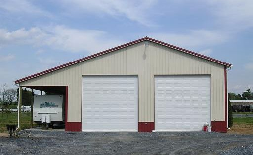 40' W X 60'L X 16'H With 12' Overhang