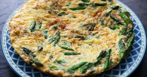 Quick and easy asparagus frittata. Perfect for spring ...