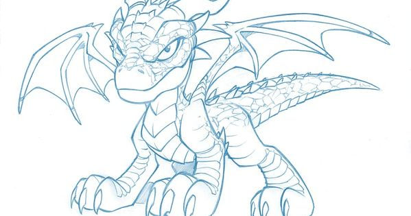 Blue Dragon Dragon Coloring Page Skull Coloring Pages Dragon Pictures