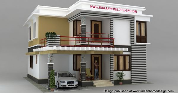 9 9 south indian house models photo house design for Simple house elevation models