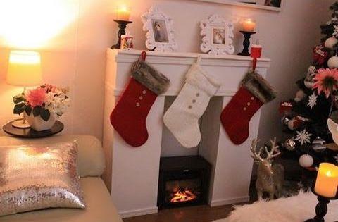 Chimenea decorativa carton ideas para decorar en navidad - Manualidades faciles y baratas ...